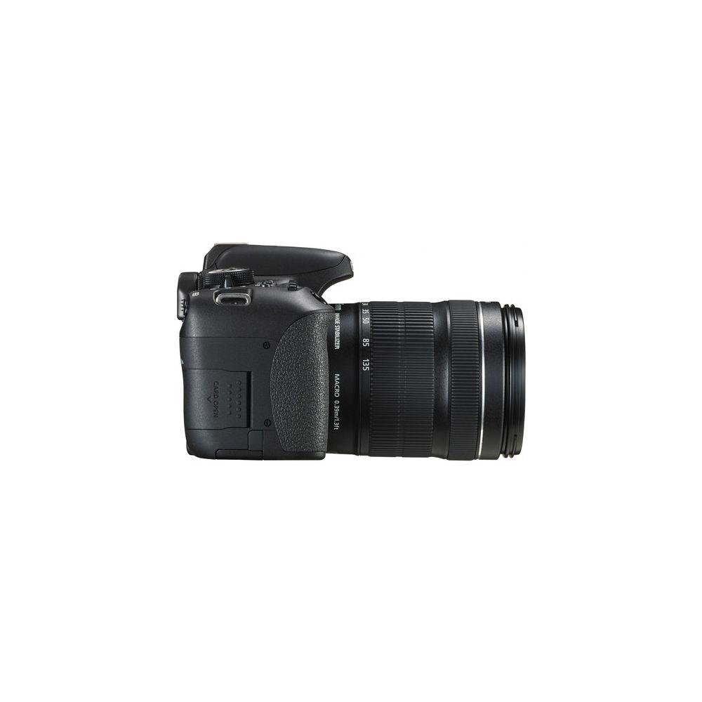 Canon EOS Rebel T6i DSLR with EF-S 18-135mm f/3 5-5 6 IS STM Lens