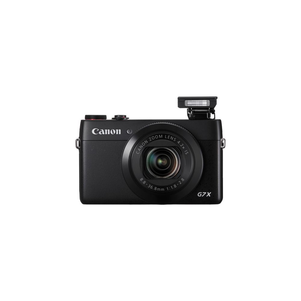 canon powershot g7 x 20 2 megapixel digital camera black. Black Bedroom Furniture Sets. Home Design Ideas