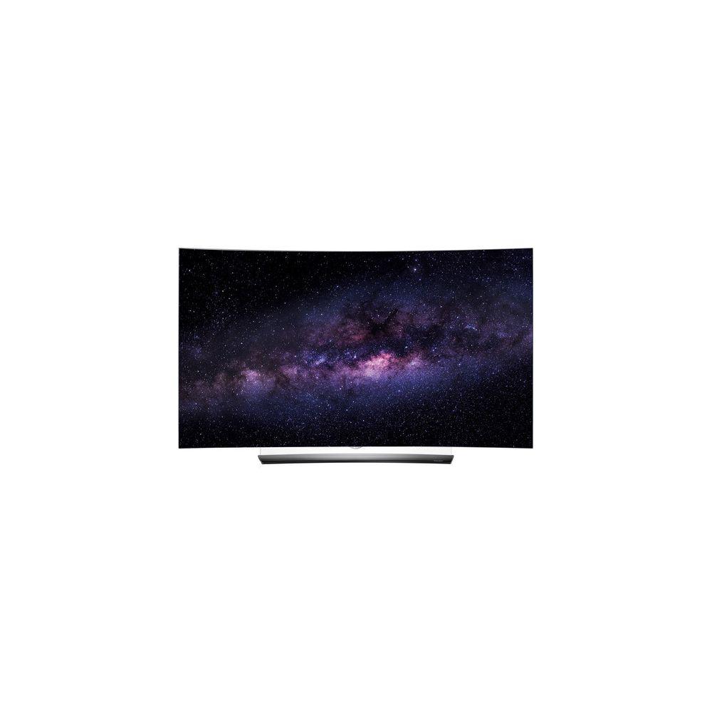 lg oled55c6p 55 inch smart 4k uhd curved oled tv. Black Bedroom Furniture Sets. Home Design Ideas