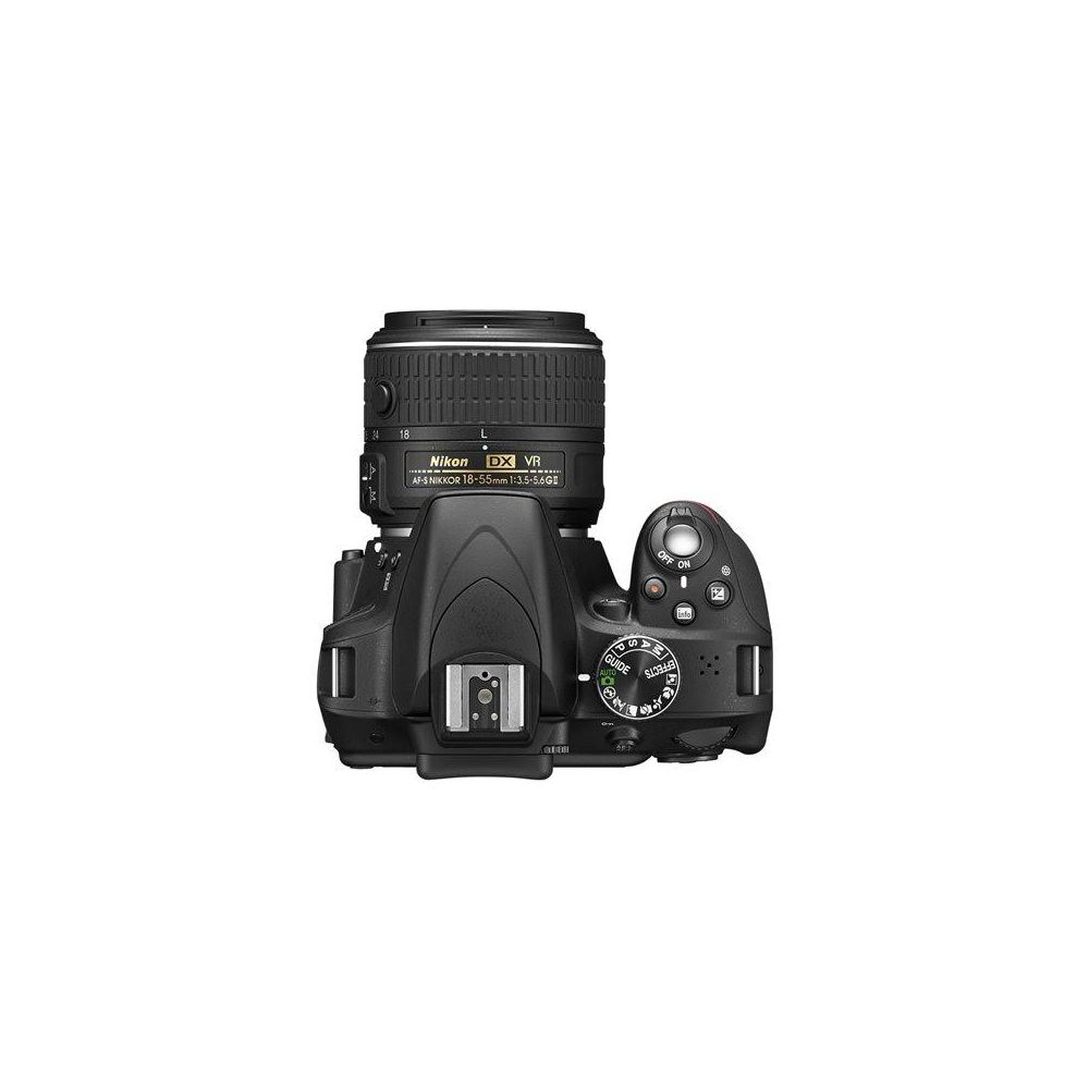 Nikon D3300 Dslr Camera With 18 55mm Lens Black Kit Vr Ii Sku