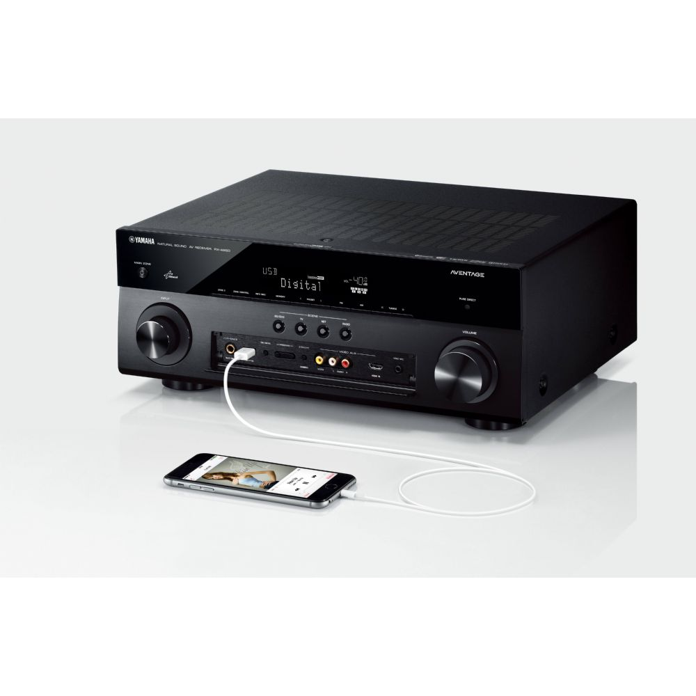 Yamaha aventage rx a850 7 2 channel av network receiver for Yamaha receiver accessories
