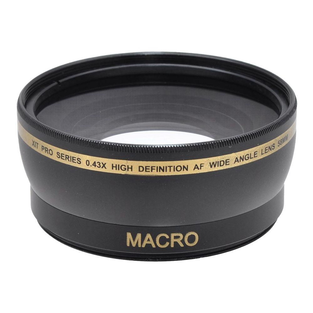 58mm Wide Angle Lens Macro With Bag