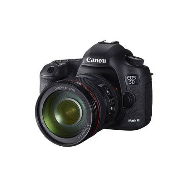 Canon EOS 5D Mark III DSLR Camera with 24-70mm Lens