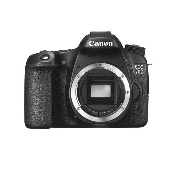 Canon eos 70d digital slr camera body black