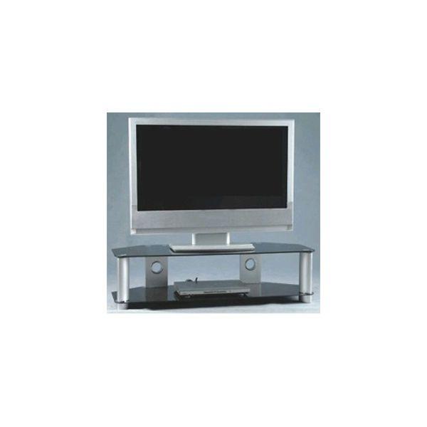 32 to 52 inch wide plasma tv stand smoke glass. Black Bedroom Furniture Sets. Home Design Ideas