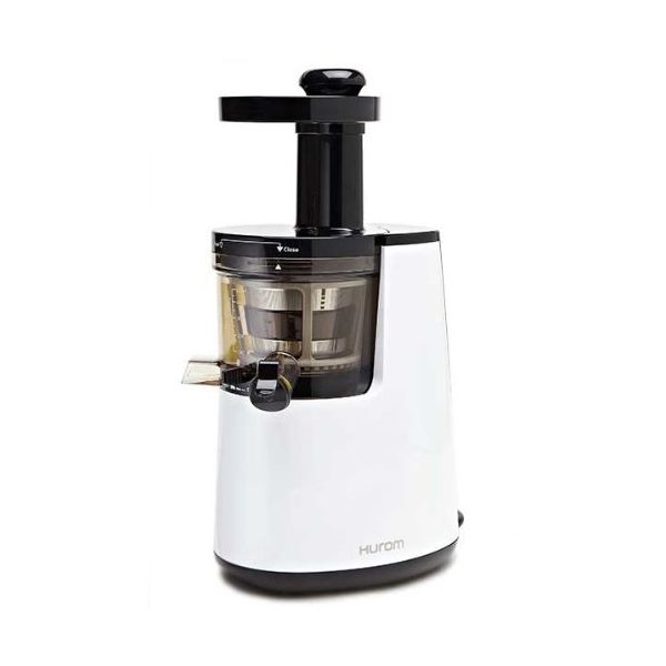 Slow Juicer Hurom Hu 700 : Slow Juicer Model HU-700 Pearl White with Cookbook