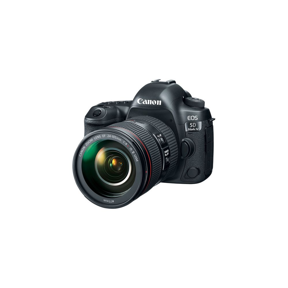 canon eos 5d mark iv dslr camera with 24 105mm f 4l ii lens. Black Bedroom Furniture Sets. Home Design Ideas