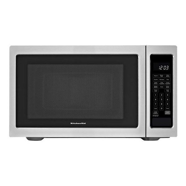 Kitchenaid Kcms1655bss 1200w Built In Microwave 1 6 Cu Ft Stainless Steel