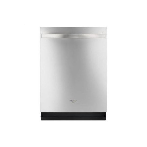 Monochromatic Stainless Steel Whirlpool R Dishwasher With Stainless