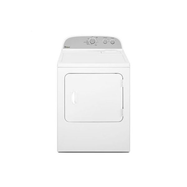 White Whirlpool R 7 0 Cu Ft Top Load Electric Dryer