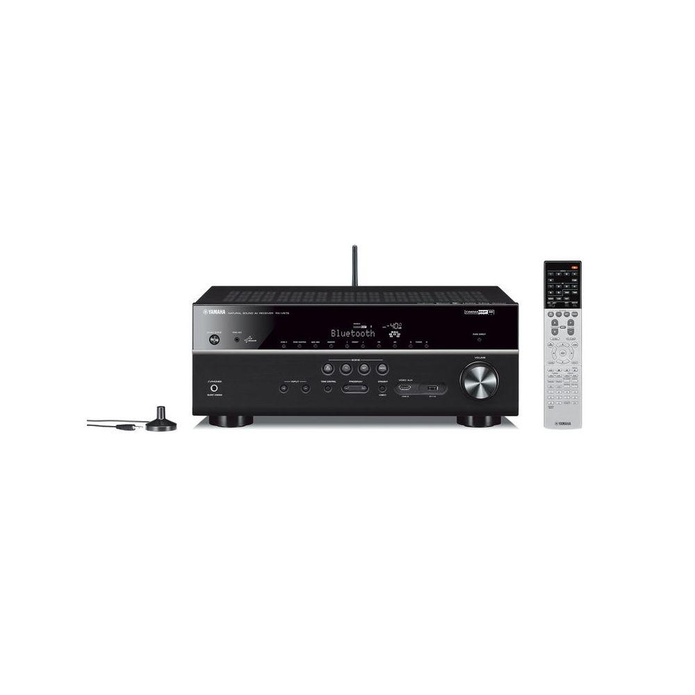 yamaha rx v679 7 2 channel av network receiver wi fi black. Black Bedroom Furniture Sets. Home Design Ideas