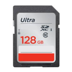 128GB Professional SDXC Memory Card HIGH SPEED