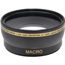 0.45X Crystal Wide Angle Lens with Macro