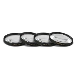 4 Piece Close-Up Macro Filter Kit (+1+2+4+10) Glass