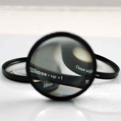 62mm 4 Piece Multi-coated Glass Close Up Macro Filter Set (+1 +2 +4 +10)