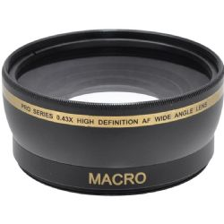 67mm 0.43X Glass Wide Angle Lens with Macro