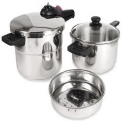 Splendid 2 by 1 Multi-Pressure Cooker Set