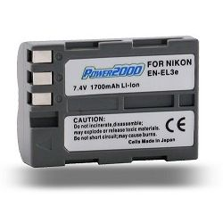 EN-EL3e Lithium Ion Battery for Nikon D80/D90/D300s