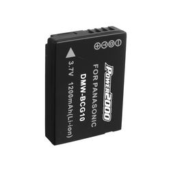 DMW-BCG10 Lithium Ion (Li-ion) Battery for DMC-ZS1/ ZS3/ ZS5/ ZS7/ ZR1/ ZR3 Digital Cameras