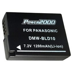 DMW-BLD10 Extended Life Battery for DMC-GF2 D-SLR Cameras