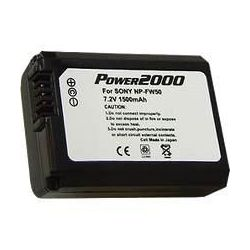 NPF-W50 Extended Life Battery for Sony NEX-3/ NEX-5/NEX 7 D-SLR Cameras