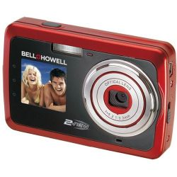 2VIEW 12.2 Megapixel Digital Camera + Video - Red