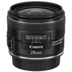 Canon EF Wide-Angle Lens for Canon EF - 28mm