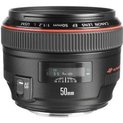 Canon EF 50mm f/1.2L USM Telephoto Lens