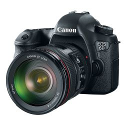 Canon EOS-6D Digital SLR Camera with EF 24-105mm f/4L IS USM Lens