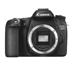 Canon EOS 70D Digital SLR Camera Body Black