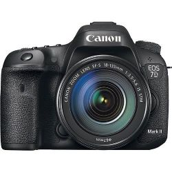 Canon EOS 7D Mark II DSLR 18-135mm IS STM Lens - Black