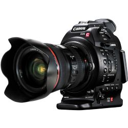 EOS C100 Cinema EOS Camera with Dual Pixel CMOS AF and 24-105mm f/4L Lens