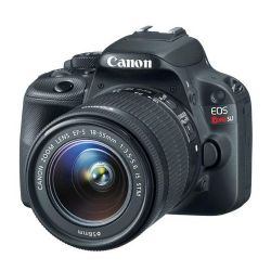 Canon EOS Rebel SL1 DSLR with EF-S 18-55mm f/3.5-5.6 IS STM Lens