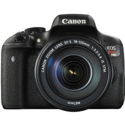 Canon EOS Rebel T6i DSLR with EF-S 18-135mm f/3.5-5.6 IS STM Lens