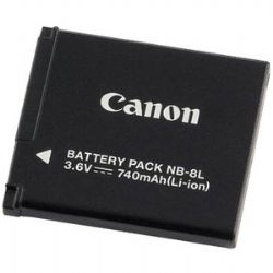 NB-8L Rechargeable Battery For Canon A3000 And A3100 Cameras