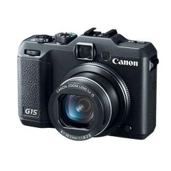 Powershot G15 Digital Camera Bonus Kit 1  USA