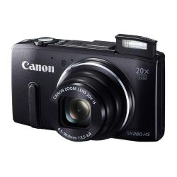 PowerShot SX280 HS Digital Camera - Black