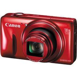 PowerShot SX600 HS Red -  High End, Advanced Digital Camera