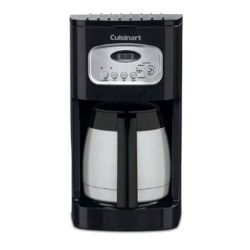 DCC-1150BK -10 Cup Programmable Thermal Coffeemaker, Black -Refurbished
