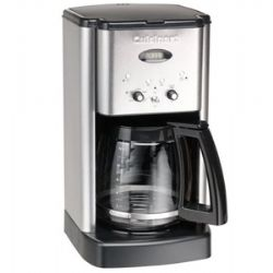 DCC-1200- Brew Central 12-Cup Coffeemaker - Stainless Steel - Refurbished