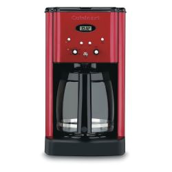Brew Central™ 12-Cup Programmable Coffeemaker - Red / Refurbished