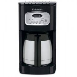DCC-1150BK 10 Cup Thermal Programmable Coffee Maker- Black