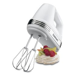 Cuisinart Power Advantage 7-Speed Hand Mixer - White - Refurbished