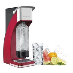 SMS-201R Sparkling Beverage Maker - Red