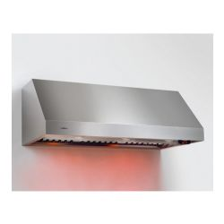 "Calabria Series ECL148SS 48"" Pro Style Wall Mount Range Hood with 1,100 CFM Internal Blower - Stainless Steel"