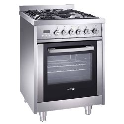 "24"" Freestanding Dual Fuel Range with 4 Sealed Burners"