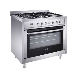"36"" Freestanding Dual Fuel Range with 5 Sealed Burners"