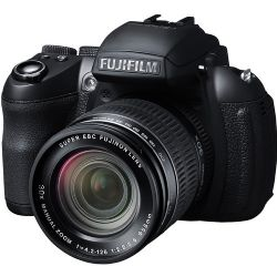 FinePix HS30EXR 16MP Digital Camera, 30x Optical Zoom, Full HD Movies Recording - Black