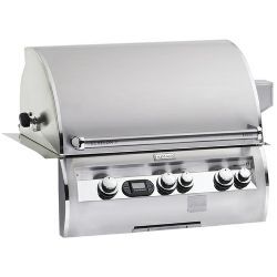 "Echelon Collection E660I4E1N 31"" Built-in Gas Grill Volt Hot Surface Ignition and Rotisserie Backburner - Natural Gas"