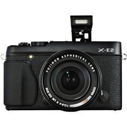X-E2 Mirrorless Digital Camera with 18-55mm Lens (Black)
